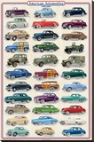 American Autos of 1940-1949 Stretched Canvas Print
