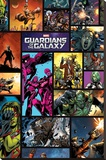 Guardians Of The Galaxy - Comics Stretched Canvas Print