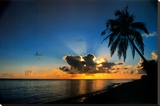 Sunrise Paradise Impressão em tela esticada por Beverly Factor