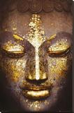Boeddha Kunst op gespannen canvas