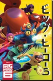 Big Hero 6 - Wild Stretched Canvas Print