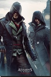 Assassins Creed Syndicate- Gang Members Stampa su tela