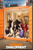 Arrested Development Television Poster Stretched Canvas Print