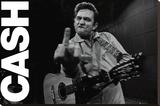 Johnny Cash - Folsom Prison Bedruckte aufgespannte Leinwand
