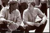 Shawshank Redemption Hope Movie Poster Stretched Canvas Print