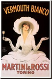 Martini And Rossi Stretched Canvas Print