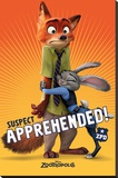 Zootropolis- Suspect Apprehended Stretched Canvas Print