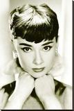 Audrey Hepburn Stretched Canvas Print