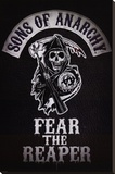 Sons of Anarchy - Fear the Reaper Stretched Canvas Print