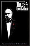 The Godfather Opspændt lærredstryk