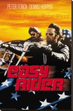 Easy Rider - Live Free Stretched Canvas Print