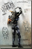 Chappie - Teaser Stretched Canvas Print