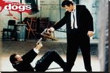 Reservoir Dogs - Guns Bedruckte aufgespannte Leinwand
