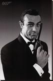 James Bond Opspændt lærredstryk