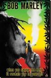 Bob Marley Bedruckte aufgespannte Leinwand