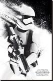 Star Wars- Stormtrooper Paint Trykk på strukket lerret