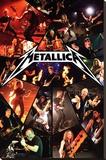 Metallica - Live Reproducción de lámina sobre lienzo