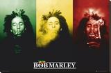 Bob Marley Opspændt lærredstryk