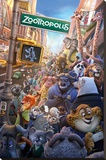 Zootropolis- One Sheet Stretched Canvas Print