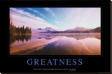 Greatness Stretched Canvas Print