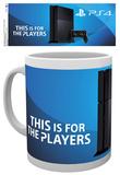 Playstation Ps4 Console Mug Krus