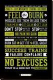 Gym - Motivational Impressão em tela esticada