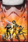 Star Wars Rebels - Empire Trykk på strukket lerret