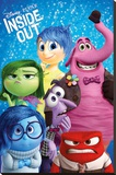 Inside Out (Characters) Stretched Canvas Print