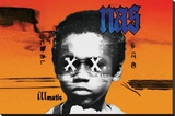 Nas - Illmatic Stretched Canvas Print
