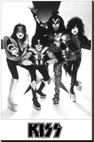 Kiss- Psycho Circus Stretched Canvas Print