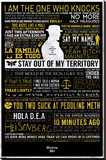 Breaking Bad - Typographic Stretched Canvas Print