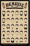 Beards - The Art of Manliness Stretched Canvas Print