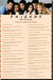 Friends - Things I Learned Stretched Canvas Print