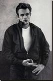 James Dean Pointing Movie Poster Print Bedruckte aufgespannte Leinwand