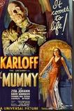 The Mummy Movie Boris Karloff, It Comes to Life Poster Print Impressão em tela esticada