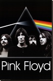 Pink Floyd - Dark Side of the Moon Group Stretched Canvas Print