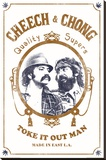 Cheech & Chong - Toke It Out Stretched Canvas Print