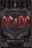 AC/DC Sträckt kanvastryck