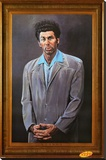 Seinfeld - Kramer Stretched Canvas Print