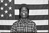 ASAP Rocky Music Poster Stretched Canvas Print