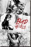 DC Comics - Badgirls Stampa su tela