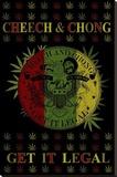 Cheech and Chong - Get It Legal Reproducción de lámina sobre lienzo