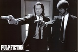 Pulp Fiction Stretched Canvas Print