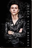 Black Veil Brides - Andy Stretched Canvas Print