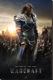 Warcraft- Lothar Stretched Canvas Print