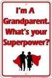 Großeltern Blechschild