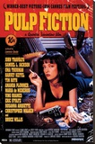 Pulp Fiction Opspændt lærredstryk