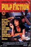 Pulp Fiction Sträckt kanvastryck