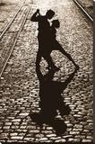 Der letzte Tanz Bedruckte aufgespannte Leinwand