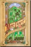 Minecraft - Computronic Reproducción de lámina sobre lienzo
